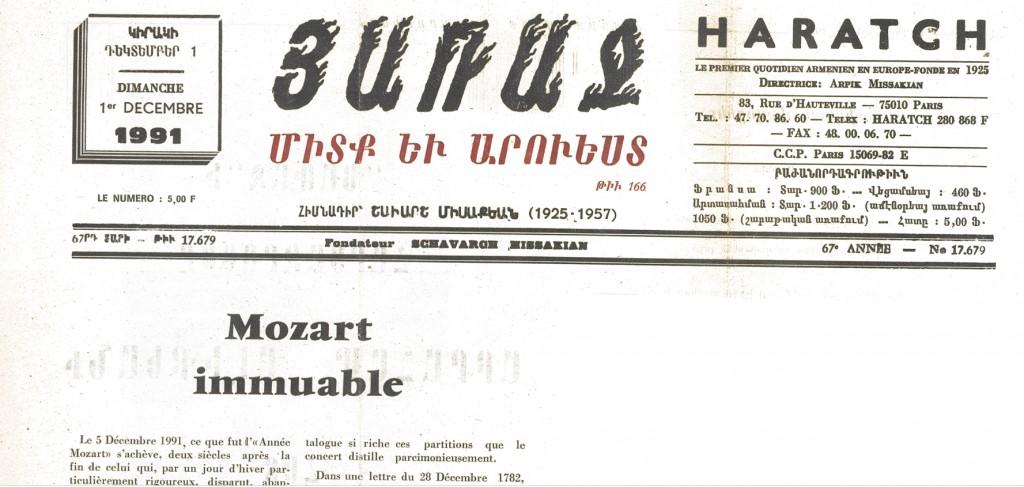 1991-12-01-nor-haratch-mozart-immuable